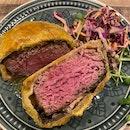 Beef Wellington With Foie Gras [$31]