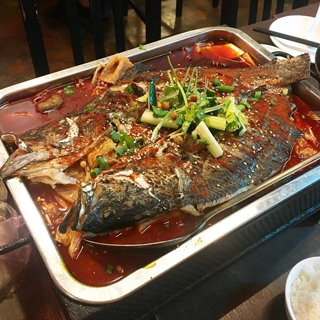 Chong Qing Grilled Fish 重庆烤鱼 (Liang Seah)