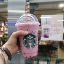 Have u try Starbucks new drink Açai mixed berry yogurt?