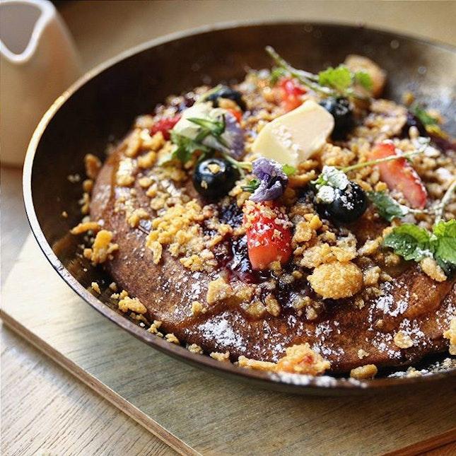 Buckwheat pancake.