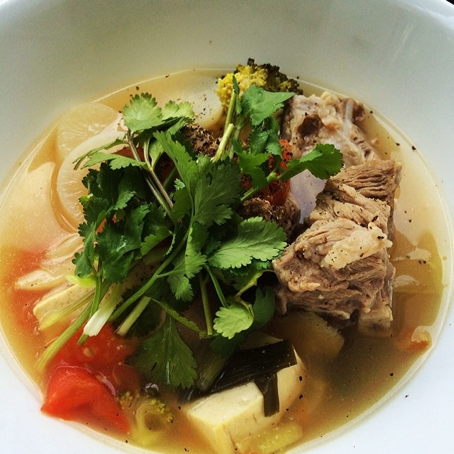 #radish #pork #soup #tofu #diy #lunch