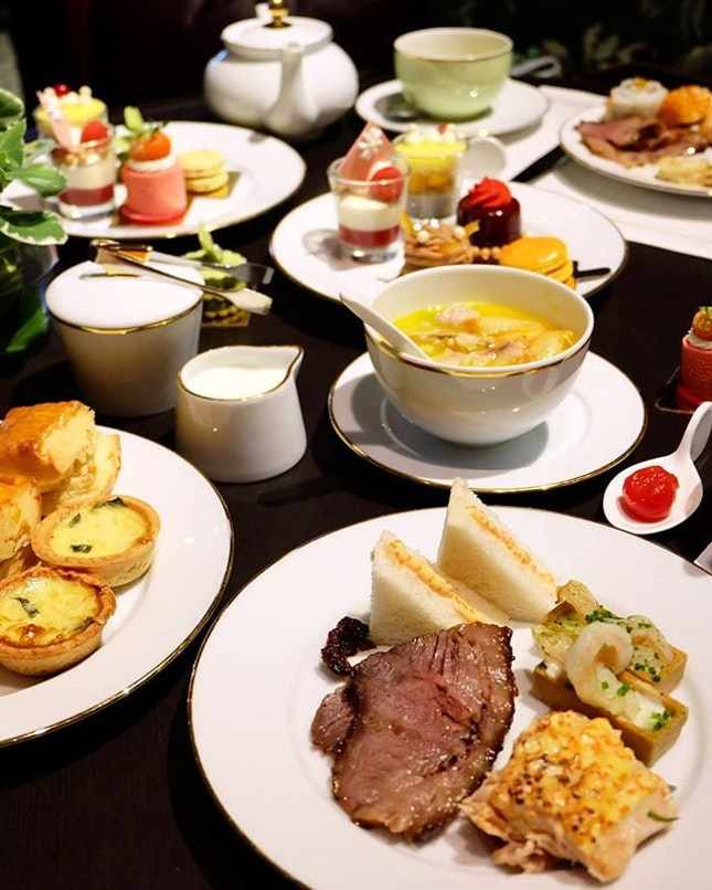 Tea Lounge's Weekend High Tea Buffet