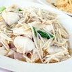 Sliced Fish Hor Fun with Bean Sprouts