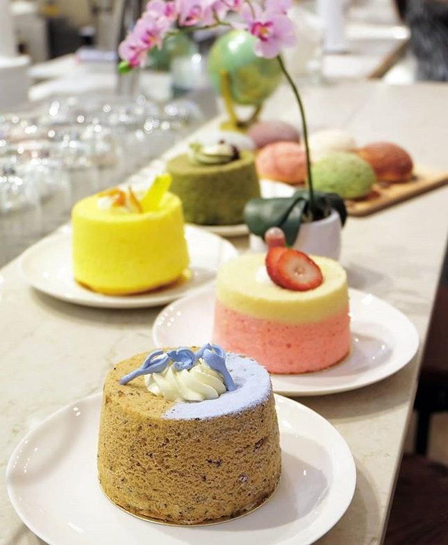 Clipper Tea Co.'s tea-infused  Chiffon Cakes