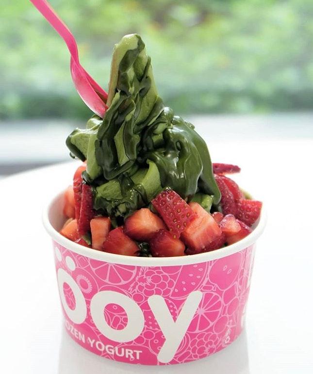 Matcha Frozen Yogurt
