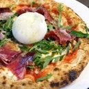 Eat and do good with an order of Zazz Pizza's Jamon Iberico Burrata!
