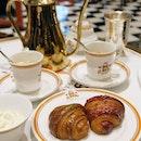 Pistachio & Raspberry Cinnamon Croissants