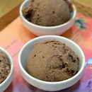 Single Origin Dark Chocolate Ice Cream Platter