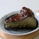 Hojicha Basque Burnt Cheesecake