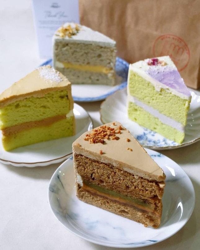 Kopi Kaya Peanut Butter Sliced Cake