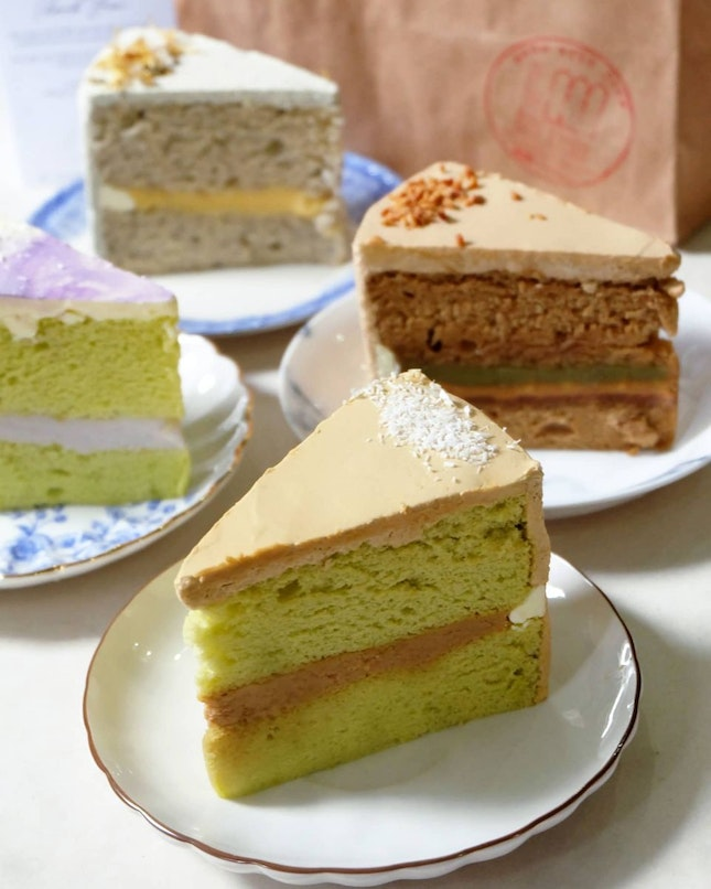 Ondeh Ondeh Sliced Cake