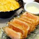 Salmon Rare Katsu & Keisuke Egg Rice