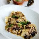 Red Prawn Dumplings in Peppercorn Oil
