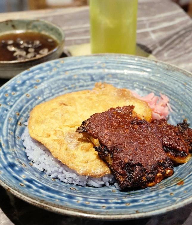 BBQ Fish Rice