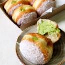 Pandan Doughnuts