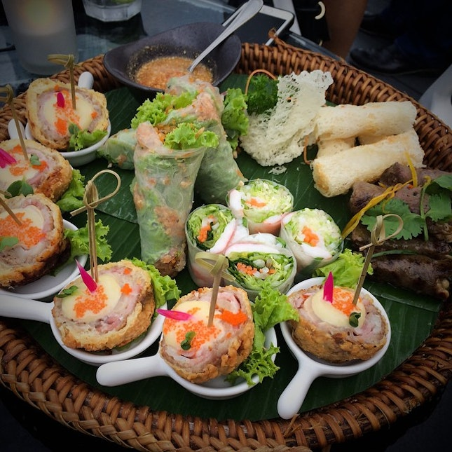 The ultimate IndoChine Platter