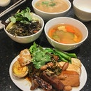 Advanced Fathers' Day vegetarian lunch with my folks last weekend.