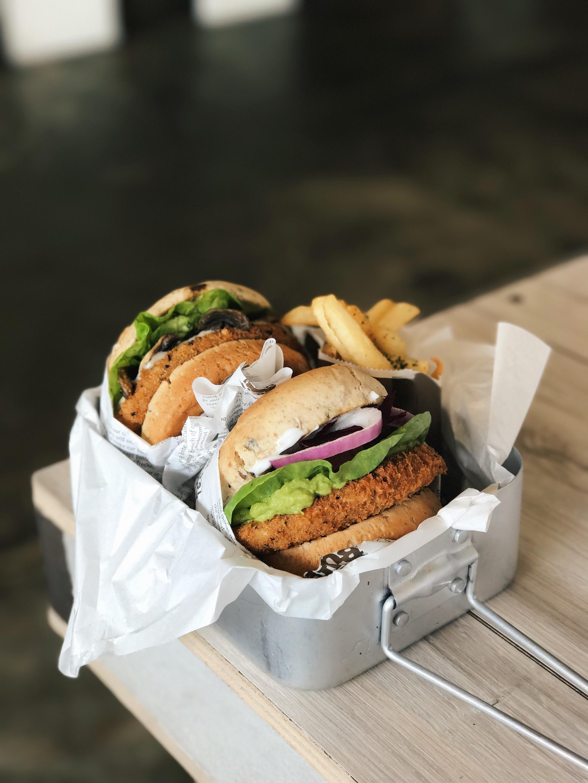 Avocado Beetroot Burger ($9.90 Ala Carte)