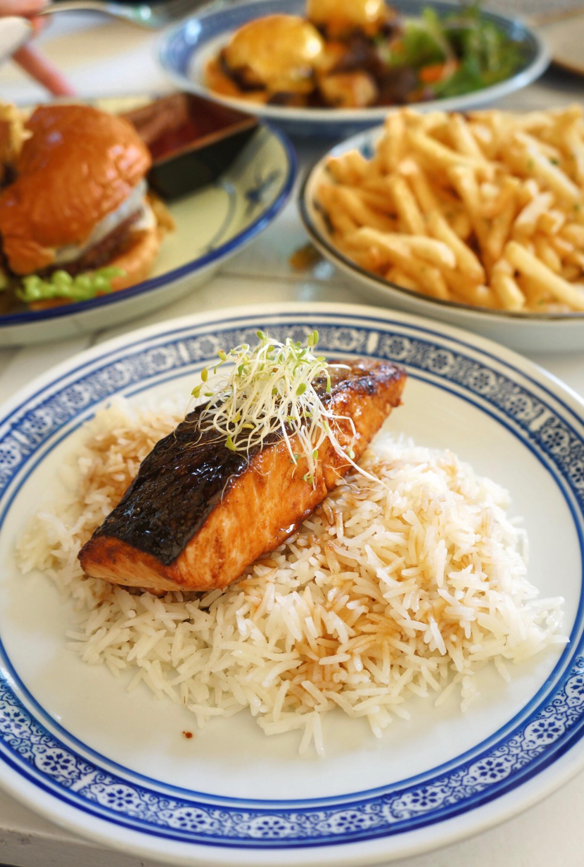 Yakitori Salmon ($24)