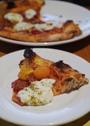 Burrata Pizza ($30)