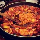 유가네닭갈비 dalgalbi #holiday #seoul #burpple #foodporn #dinner #yoogaalne