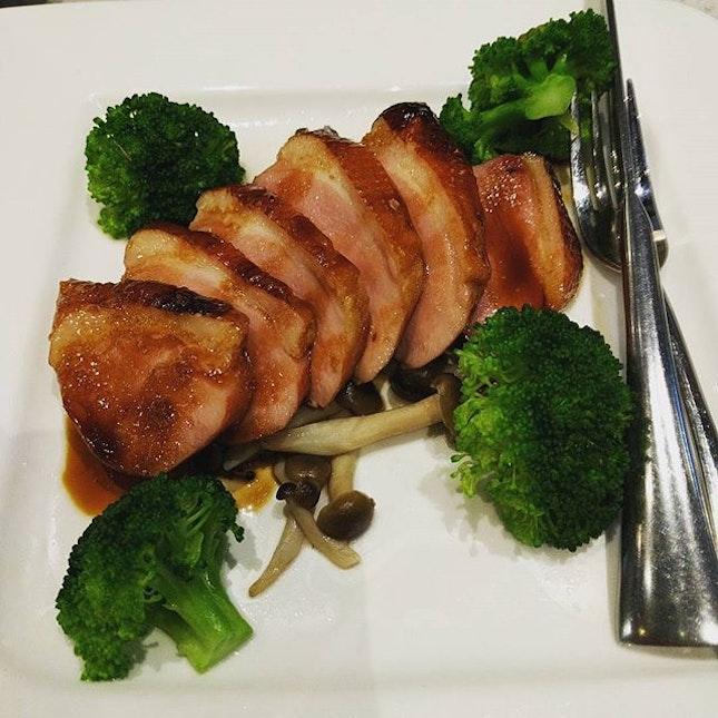 Duck steak #burpple #foodporn #dinner #japanese