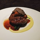 Beef tenderloin with Foie Gras & Truffles #burpple #foodporn #dinner #western #999.99 #fivenines