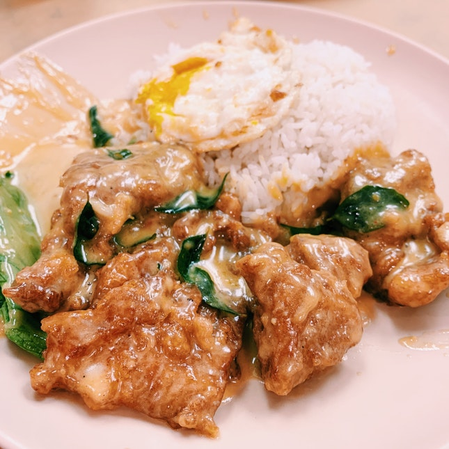 Salted Egg Pork Ribs