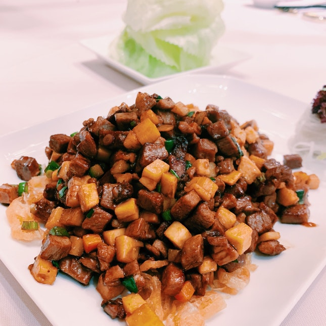 Stir Fry Peking Duck