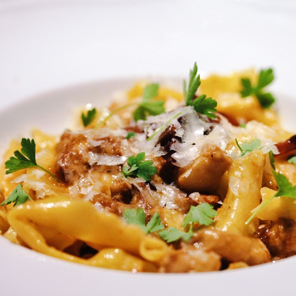 Pappardelle with Pork Cheek & Red Wine