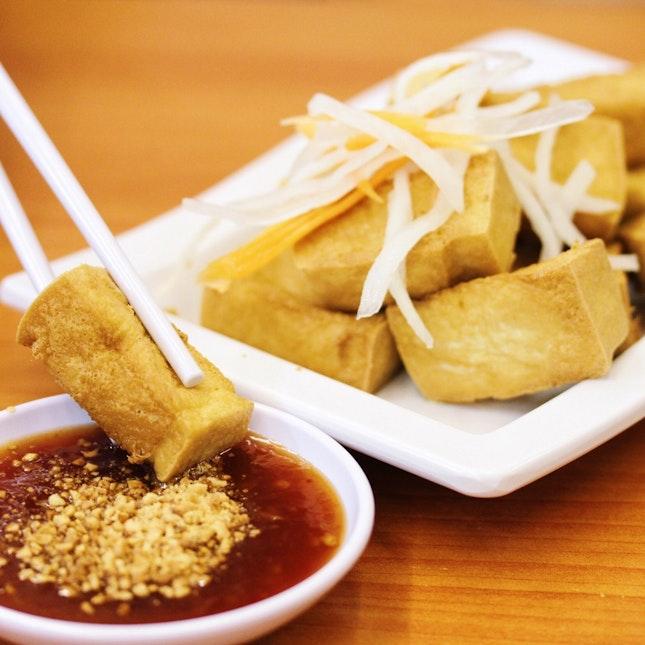 Fried Tofu with Thai Chilli Sauce