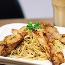 Grilled Chicken Linguine