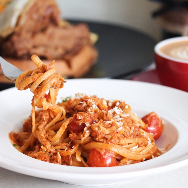 Hyde's Chilli Crab Pasta