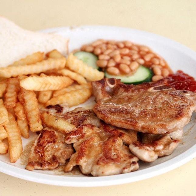 Chicken & Pork Chop