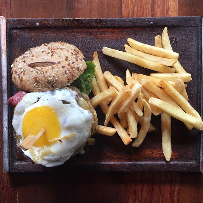 Triple Stack Burger