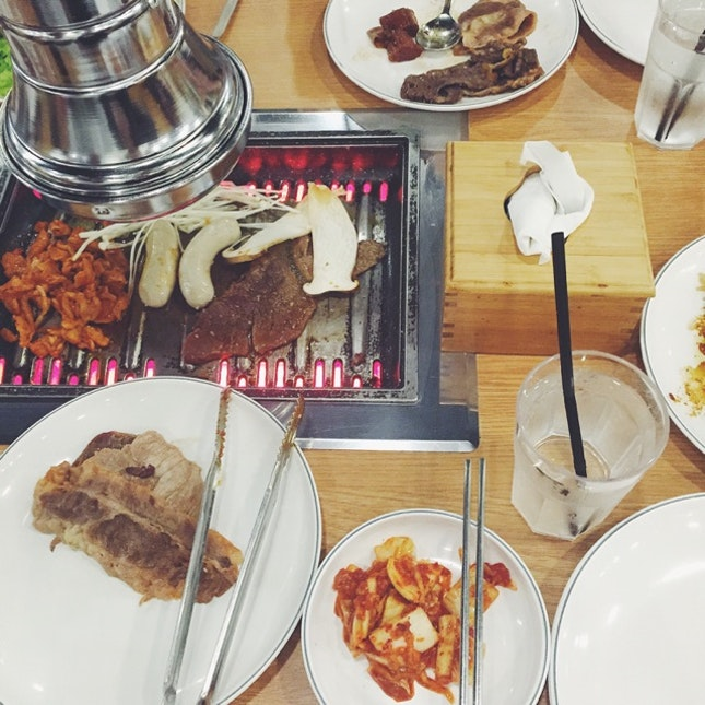 Korean BBQ @ NEX