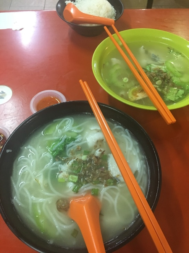 Bee Hoon Fish Soup