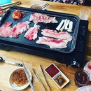 You can never say no to Korean BBQ #cheryleatsalot .