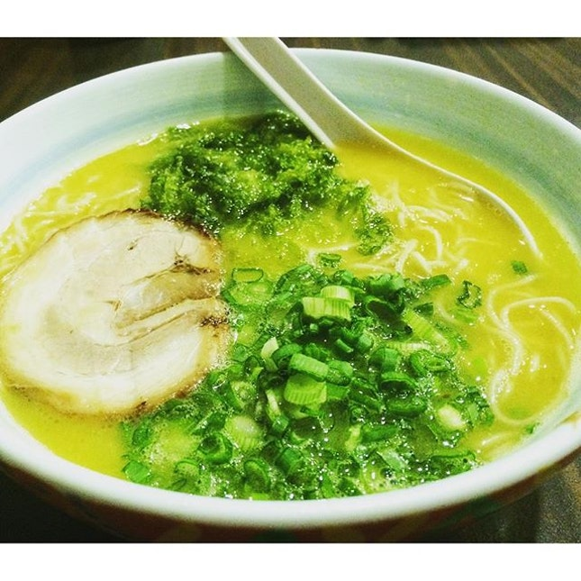 Marutama Ramen  You can savour the rich and thick chicken essence in the broth that makes Marutama Ramen different from the usual pork based ones.