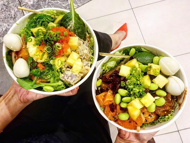 Adopt a healthy lifestyle with a poke bowl @alohapokesg  This marks my visit to all 4 of Aloha Poke branches from Amoy Street, Marina Bay Link Mall, Change Alley and now Bugis Junction.