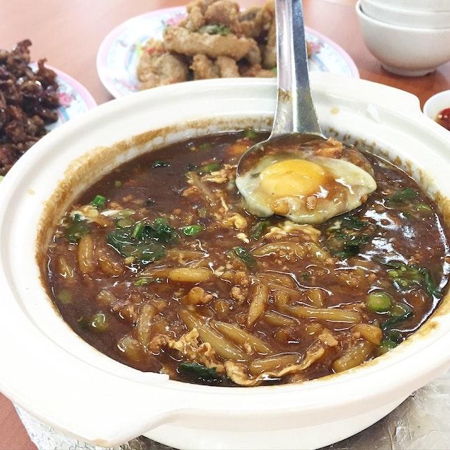Claypot Mee Tai Mak ($10)
