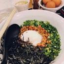Mazesoba (Dry Ramen) Nagoya Style