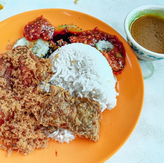 Authentic Indonesian Ayam Penyet