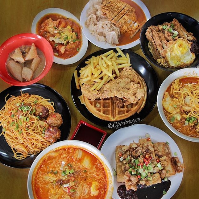 Truly test has a wide range of noodles, western and even curry rice to fill up your hungry tummies of various palates!