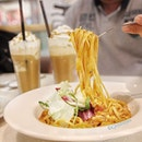 Chilli Crab Linguine, part of the National Day menu  Thank you @sophiensyy and @ocoffeeclubsingapore  the giveaway!