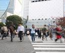 Shibuya Crossing Intersection