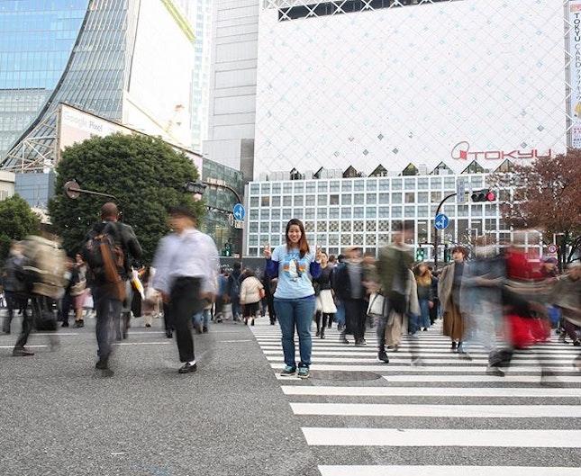 🇯🇵I love the Shibuya Crossing so much!