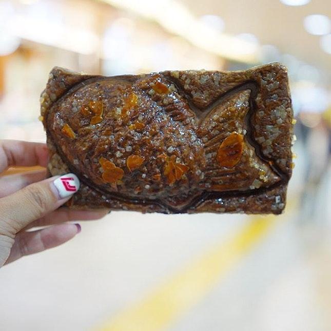 🇯🇵Chocolate Croissant Taiyaki!