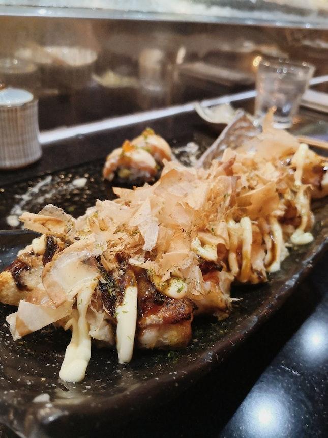 Kinki Style Okonomiyaki ($28)