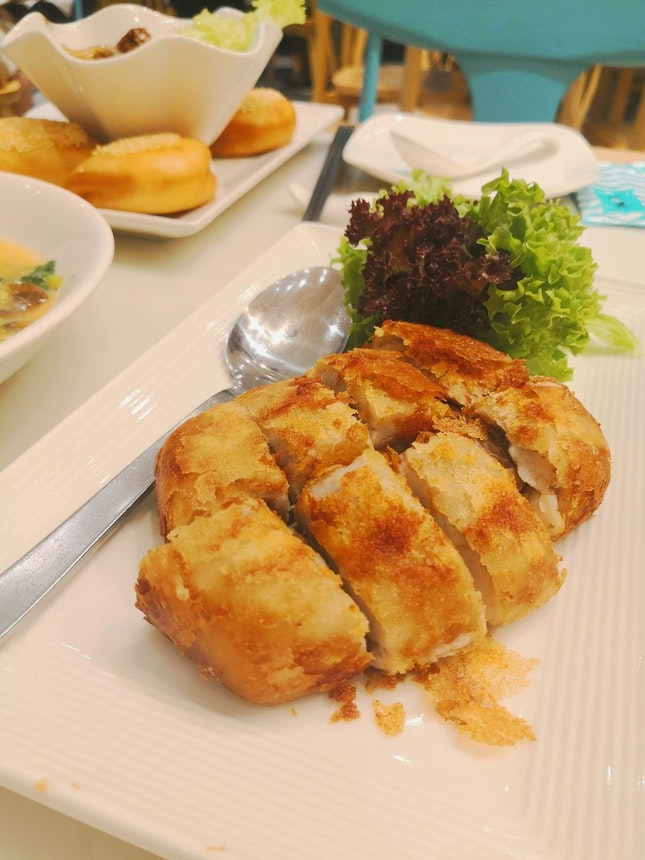Deep Fried Duck With Yam ($14.9)